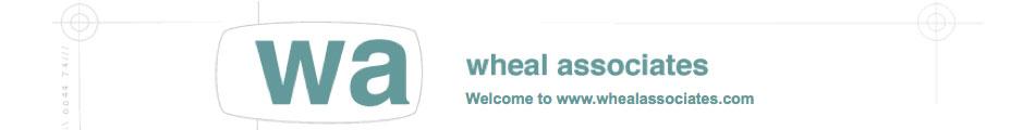 Wheal Associates header and logo